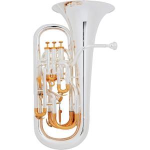PRESON(プレソン) ユーフォニアム・銀メッキ PR3300SP|groovin-trumpet