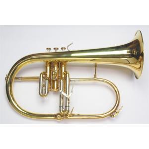 Hub Van Laar(ヴァンラー) フリューゲルホルン BR1 ローブラス|groovin-trumpet