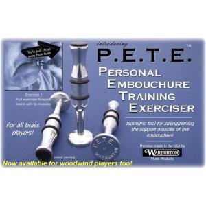Warburton(ワーバートン) P.E.T.E.(ピート) PB03 金管用 黒プラスチック|groovin-trumpet
