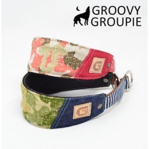 迷彩柄!ハーフチョーク【中型犬用】サルーキー、ウィペットにぴったり! |groovygroupie