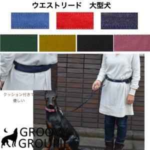 ウエストベルトリード ランニングリード  大型犬用リードセット 【ポスト投函選択で送料無料】|groovygroupie