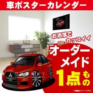 三菱/ランサー エボリューション10/車ポスターカレンダー/2020年/グルービー/ MITSUBISHI ランエボ10 クルマ groovys