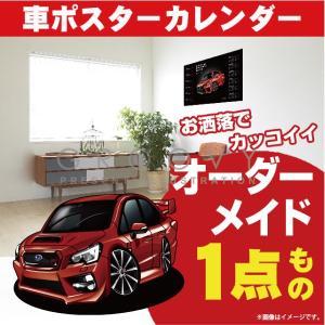 スバル/WRX STI typeS/車ポスターカレンダー/2...