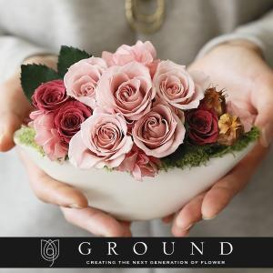 プリザーブドフラワー 母の日 花 ギフト プレゼント 早割 母の日ギフト2020 誕生日プレゼント おしゃれ 結婚記念日 両親 妻 電報 結婚式 祝電 送料無料|ground-flower