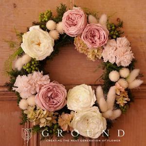 プリザーブドフラワー プレゼント ギフト 花 祝電 電報 結婚式 おしゃれ リース 誕生日プレゼント 女性 開店祝い お祝い 新築祝い 送料無料 結婚祝い|ground-flower