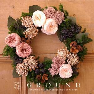 プリザーブドフラワー プレゼント ギフト 花 祝電 電報 結婚式 おしゃれ リース 開店祝い 新築祝い 送料無料 結婚祝い|ground-flower