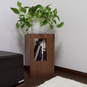 グリーン スタンド D 観葉植物台 無垢材 天然木 ナイトテーブル サイドテーブル フラワースタンド コーヒーテーブル|grove