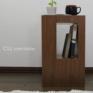 サイドテーブル ブラウン(ウォールナット柄)ナイトテーブル ラック 北欧|grove