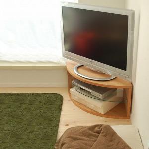 テレビ台 FA コーナーテレビ台 90cm ブラックチェリー テレビボード コーナー TV台 完成品 北欧 ローボード 収納 おしゃれ|grove