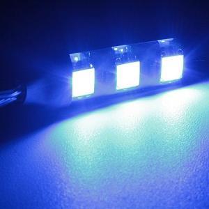 デイライト 3chip SMD3連LEDテープ ブルー×1本|gry
