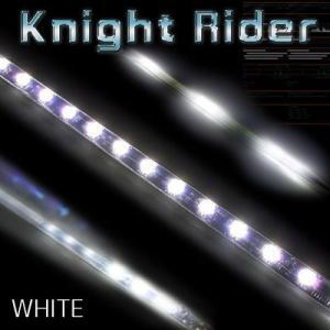 LEDテープ スイッチ付 ミニナイトライダー 30cm LED15連 ホワイト gry