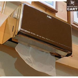 DULTON ダルトン 新仕様 ティッシュディスペンサー ペーパーボックス ティッシュケース 壁掛け 据置き可能 ステンレス|gs-cart