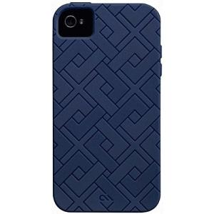 iPhone 4S/iPhone 4 共通 Safe/Skin/Emerge/Angles/Blue|gs-net