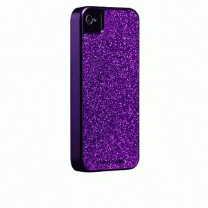 iPhone 4S/iPhone 4 共通 Barely/There/Glam/Case/Purple|gs-net