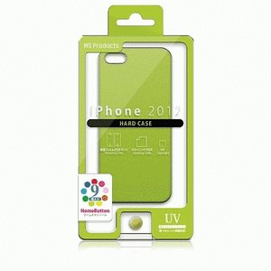 iPhone SE/iPhone 5S/iPhone 5 共通 ハードケース/ライムグリーン gs-net