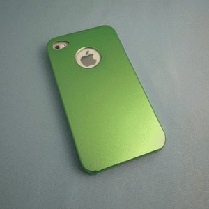 iPhone 4S/iPhone 4 共通 Metal/Case/Green|gs-net