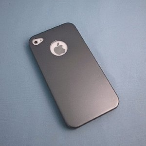 【残りわずか】iPhone 4S/iPhone 4 共通 Metal/Case/Grey|gs-net