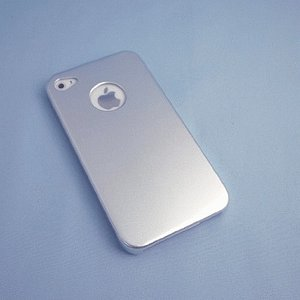 【残りわずか】iPhone 4S/iPhone 4 共通 Metal/Case/Silver|gs-net