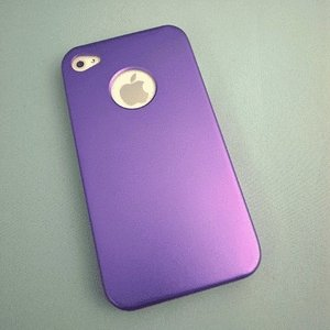 iPhone 4S/iPhone 4 共通 Metal/Case/Purple|gs-net