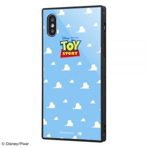 スマホケース iPhone XS X ディズニー ガラスケース KAKU トイ ストーリー 25  アイフォン|gs-net