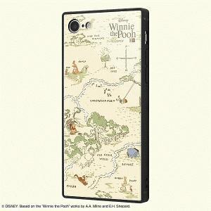 スマホケース iPhone SE 第2世代 8 7 耐衝撃ケース KAKU トリプルHV くまのプーさん  アイフォン|gs-net