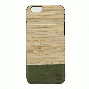 iPhone 6S/iPhone 6 共通 天然木/Bamboo/Forest/ブラックフレーム|gs-net