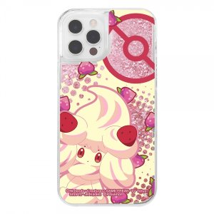スマホケース iPhone 12 Pro 12 ラメ グリッターケース ポケットモンスター シリーズ07  アイフォン|gs-net