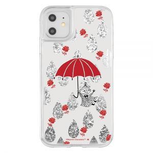 スマホケース iPhone 11 XR ラメ グリッターケース リトルミイ  アイフォン|gs-net