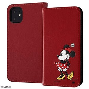 スマホケース iPhone 11 XR 『ディズニーキャラクター』 手帳型ポップアップ ミニー  アイフォン|gs-net