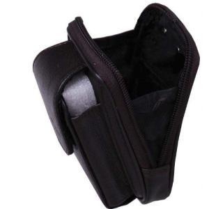 本革レザーベルトケース ブラック 携帯・小物入れ 父の日 プレセント|gs-shop