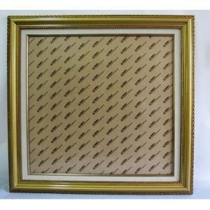 木製額縁 クロスステッチ額 刺繍額 ストーン画額 サイズ内径(縦+横) 92 マット紙付き アンテックゴールド gs-shop
