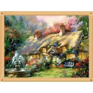 クロスステッチ刺繍 Forest House クロスステッチキット クロスステッチ ししゅう糸 刺繍糸 刺繍針 刺繍キット|gs-shop