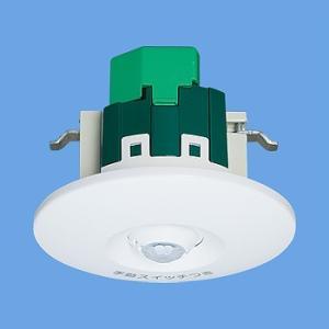 WTK2604 トイレ天井取付熱線センサ付自動スイッチ(蛍白両用、換気扇連動用・明るさセンサ付)|gs-store
