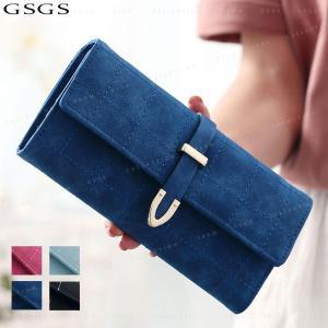 送料無料 財布 長財布  レディース ウォレット 大人可愛い カード収納 大容量 PUレザー|gsgs-shopping
