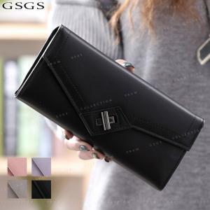 送料無料 財布 長財布  レディース ウォレット   やりくり 財布 仕分け 女性用 母の日 誕生日 ギフト プレゼント PUレザー|gsgs-shopping