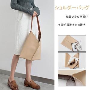 バッグ レディース シンプル 鞄 トートバッグ 手提げ 肩掛け 斜め掛け 軽量 大きめ ショルダーバッグ 大人 ビジネス 無地 カジュアル|gsgs-shopping