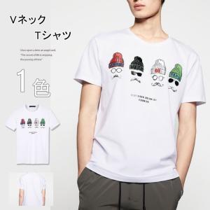 Tシャツ メンズ 紳士用 カジュアルシャツ 夏アイテム カッコイイ ファッション 今季新作 欧米風 人気 gsgs-shopping