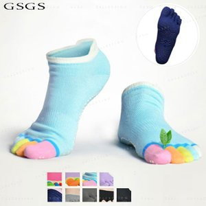 ヨガソックス 靴下 5本指 滑り止め 健康ソッ クス ヨガグッズ レディース メール便送料無料 gsgs-shopping