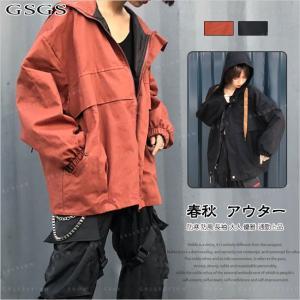 トレンチコート  レディース フード付き ショートジャケット ブルゾン 防寒 防風 アウトドア 体型カバー gsgs-shopping