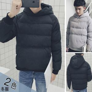 パーカー プルオーバー メンズファッション ショート丈 冬物 フロントポケット 個性 韓国風ファッション 無地 お洒落男子におすすめ|gsgs-shopping