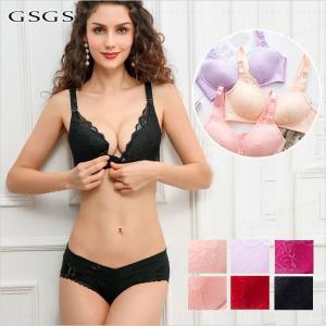 授乳ブラジャー 授乳服・授乳用ブラジャー 2点セット ママ マタニティ 肌着 下着 インナー|gsgs-shopping