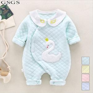 送料無料 ベビー服 ロンパース カバーオール 新生児 赤ちゃん お出かけ 出産祝い 誕生日 ギフト 帽子付き|gsgs-shopping