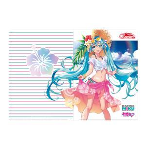 レーシングミク 2021Ver. クリアファイル Vol.4 Tropical Ver. 初音ミク ...