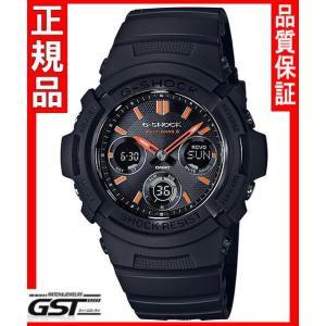 【国内モデル限定】GショックカシオAWG-M100SF-1A4JR「ファイアー・パッケージ」ソーラー電波腕時計(黒色〈ブラック〉)|gst
