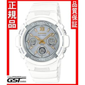 GショックカシオAWG-M100SGA-7AJF プレシャス・ハート・セレクション ソーラー電波腕時計(白色〈ホワイト〉)|gst