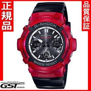 カシオAWG-M100SRB-4AJFジーショックソーラー電波腕時計 送料無料 |gst