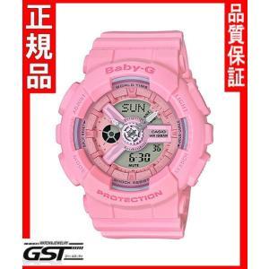 カシオBA-110-4A1JF腕時計「ベビージー ピンクブーケシリーズ」レディース(桃色〈ピンク〉)|gst