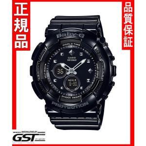 ベビーGカシオBA-125-1AJF ベビージー レディース(黒色〈ブラック〉)|gst