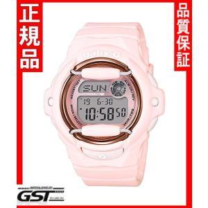 カシオBG-169G-4BJF腕時計「ベビージー ピンクブーケシリーズ」レディース(桃色〈ピンク〉)|gst