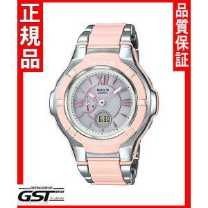 カシオBGA-1250C-4BJFソーラー電波腕時計「ベビージー ピンクブーケシリーズ」レディース(桃色〈ピンク〉)|gst